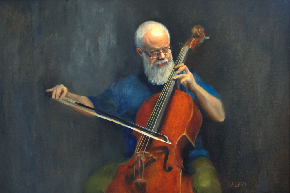 'The Cellist'