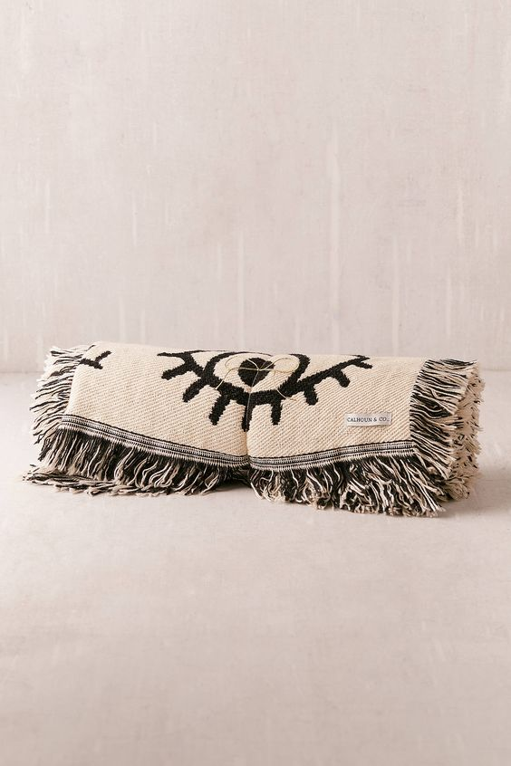 Calhoun & Co. Winks Eye Blanket Collaboration with Urban Outfitters