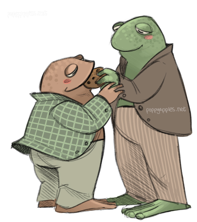My very first ship, Mr Toad and Mr Frog. I clocked them as a gay couple when I was five, but didn't know it was entirely intentional until just today. Thanks, Arnold Lobel, for shaping my childhood so fundamentally.