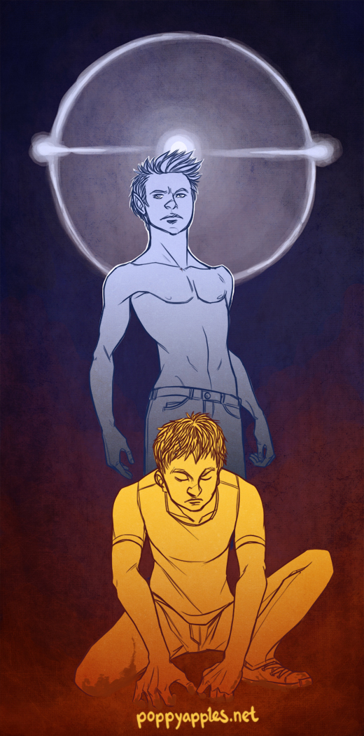 Khepri - Mock up poster for a comic project I was working on with my then girlfriend. The girlfriend isn't around anymore, but I've since rewritten the story. Some things just last longer.