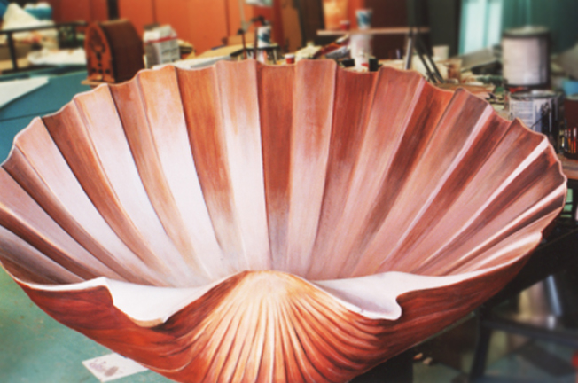 Botticelli shell prop
