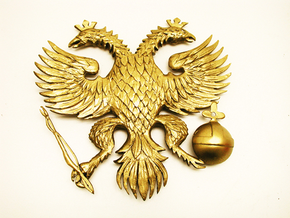 Russian eagle model