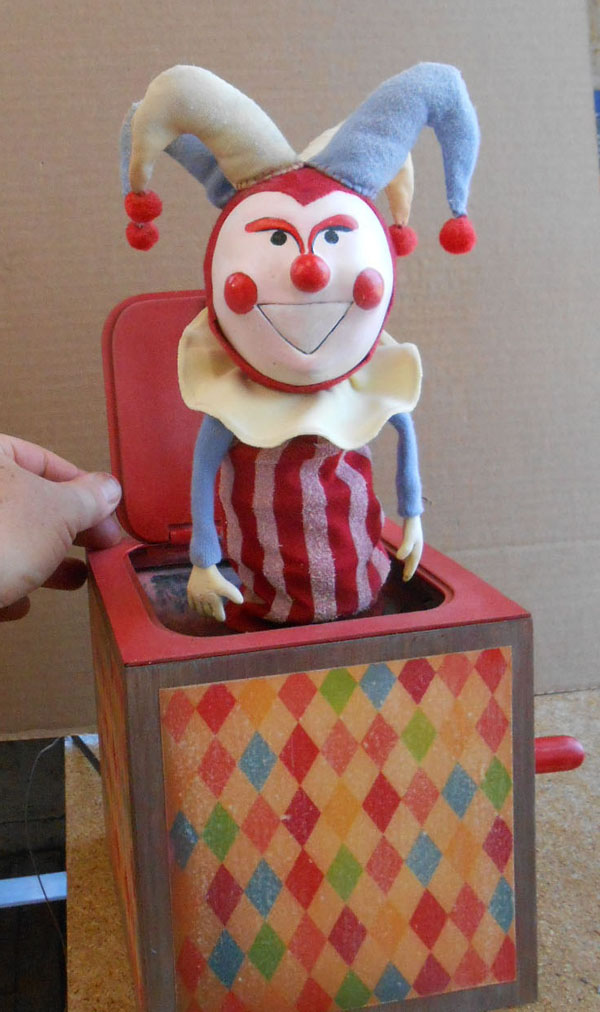 Jack in the box prop