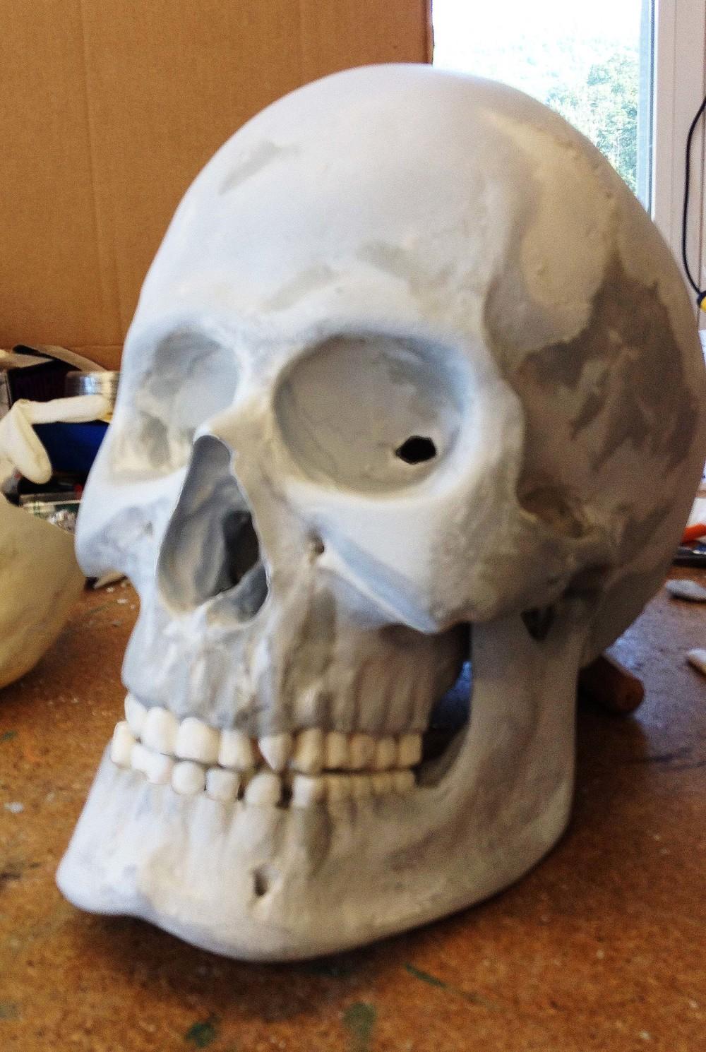 Giant's skull