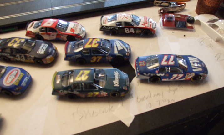 custom slot car decals