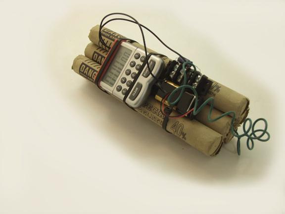 fake bomb for SNL