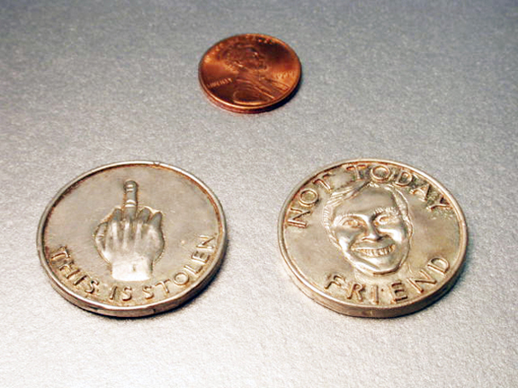 fake coin for SNL