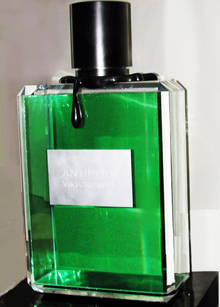 700 lb 'antidote' cologne bottle