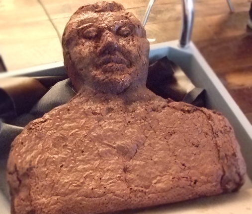 edible brownie man