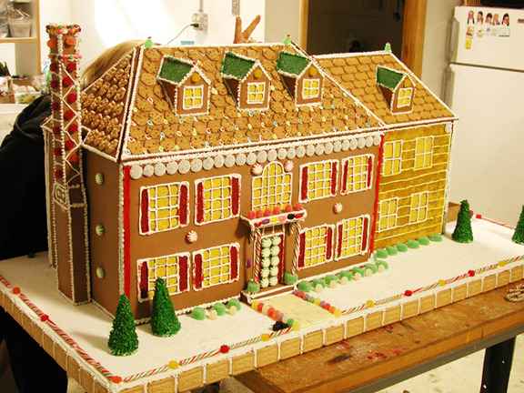 one life to live gingerbread house