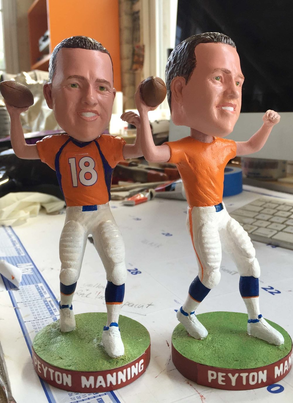 Peyton Manning bobble head