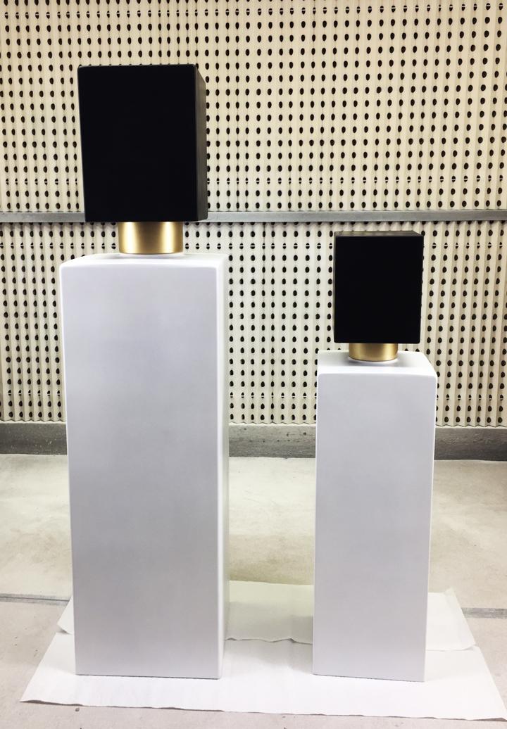 giant perfume bottles