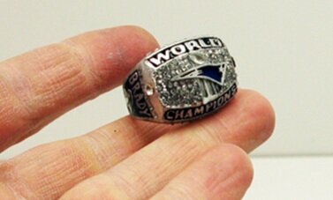 Fake super bowl ring prop