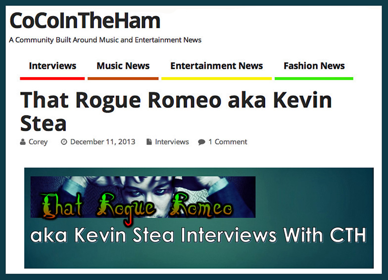 Thanks Corey for the great coverage in CoCoInTheHam's new Music Blog Site… check it out everyone! http://cocointheham.com/2013/12/thatrogueromeo.html