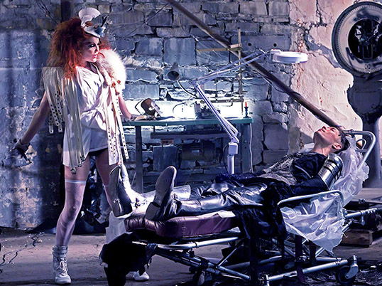 Carmit Bachar as the amazing and luscious villainess in That Rogue Romeo's new Machine & Magic Video⇒⇒   http://youtu.be/iFU3NA8NHR0   Photo by Djeneba Aduayom