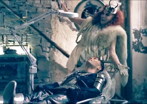 That Rogue Romeo's new Machine & Magic video is ready to VIEW… Directed by Brian Friedman and Chán André of VPi Voyeur Photography, Inc. & Featuring former Pussy Cat Doll Carmit Bachar as the villainess!! Click below to see:    http://youtu.be/iFU3NA8NHR0