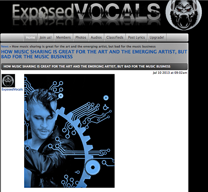 Check out the new INTERVIEW with That Rogue Romeo at ExposedVocals    http://www.connect.exposedvocals.com/member/news_post_view.php?postId=240