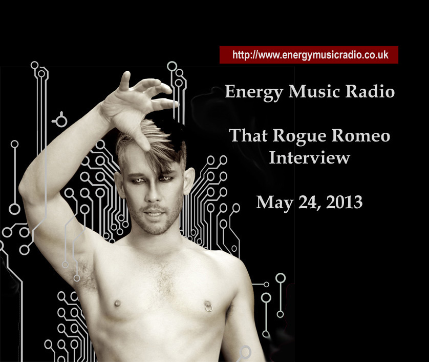 For everyone who didn't get a chance to hear the hour-long radio interview with That Rogue Romeo (aka Kevin Stea) on http://www.energymusicradio.co.uk/ , it is now archived on my YouTube channel. Go⇒   http://www.youtube.com/watch?v=wNyQx0Ap2Ok