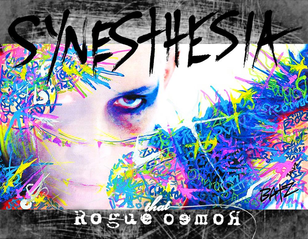 the cover of our Synesthesia calendar!! graffiti by Stephen Batz Skinner!!