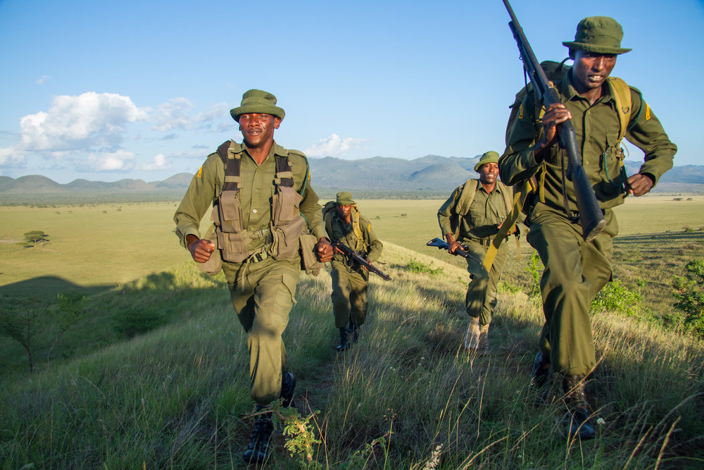 Rapid response teams operate from mobile tented camps (Jeremy Gross/BLF)