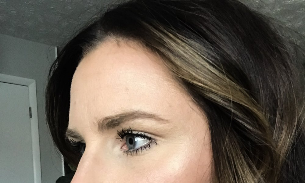 Left Brow 6 Weeks After First Session