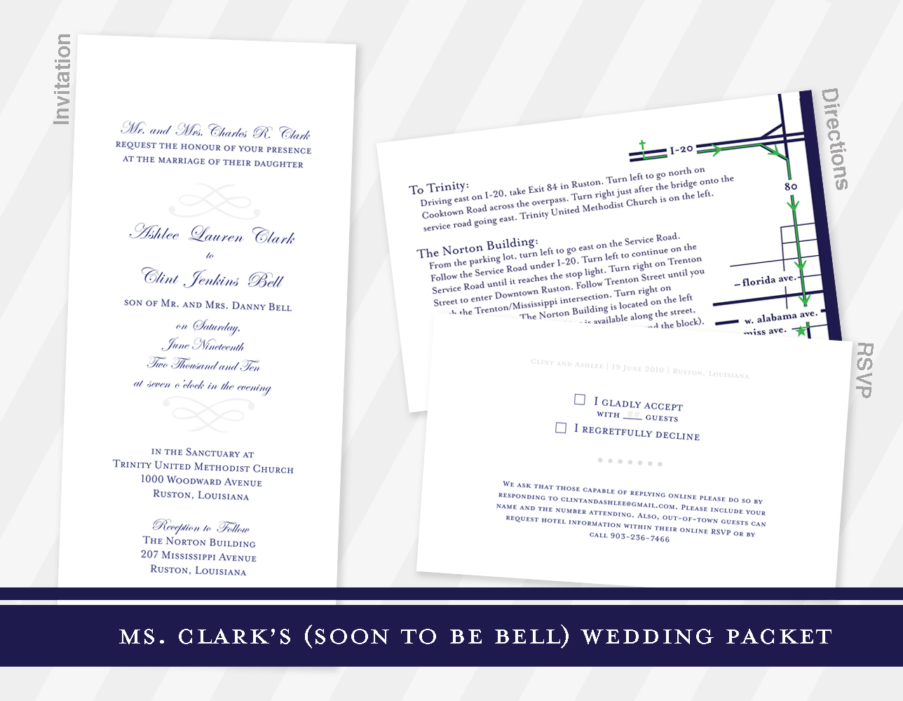 Ms. Clarks Wedding Packet