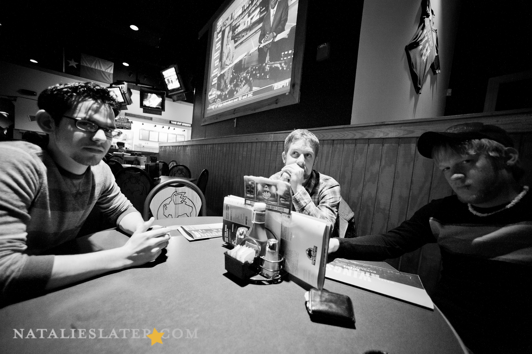 Dean, Andy, and Jesse at BWW