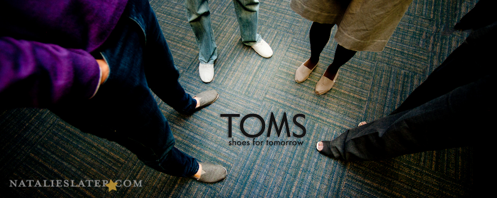 TOMS Shoes...