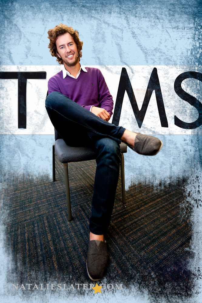 Blake Mycoskie founder of TOMS Shoes
