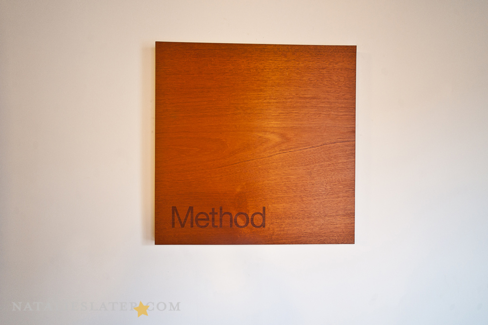 Name plate inside of method offices