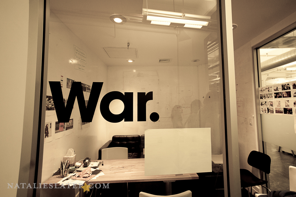 their war room