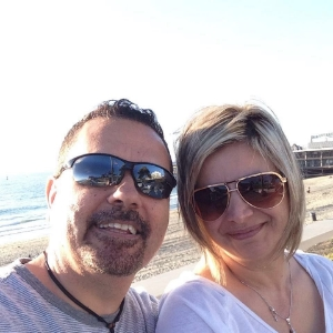 Salon Owners: John and Mirna, a husband and wife team.
