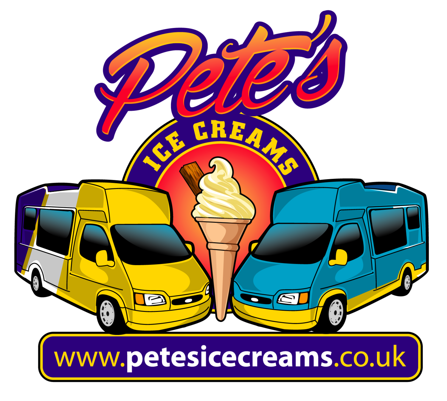 Pete's Ice Cream Van Hire Swindon