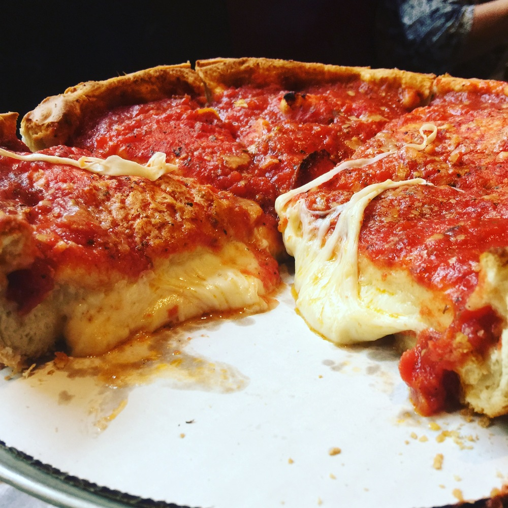I mean come on..look at this pizza! How could you not get hungry when you look at this?