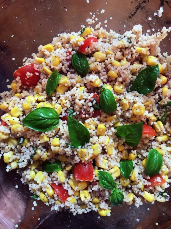 Couscous Corn Tomato Salad Cooking To A T