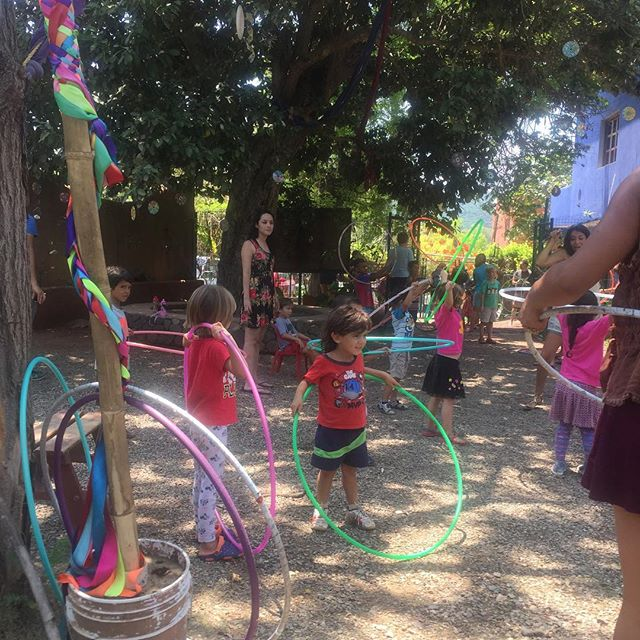 #hoopeando en el #jardin  #chacala #nayarit 😍😁 #summerhoopingmx #shmx2017