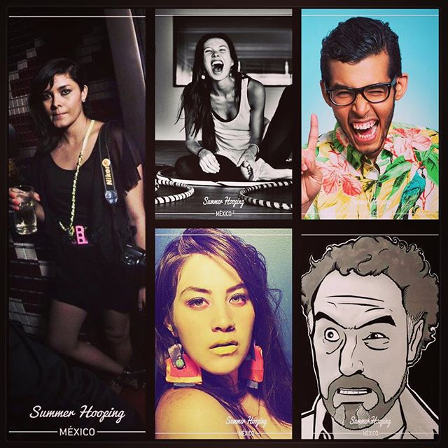 We want to thank these #SHMx2017 collaborators, for joining our team and sharing their passion and talent with all of us! GRACIAS !! ⭕️😁🎉 @phaponce @girlgangfirst @hectorgsaurio @birthandyogamx