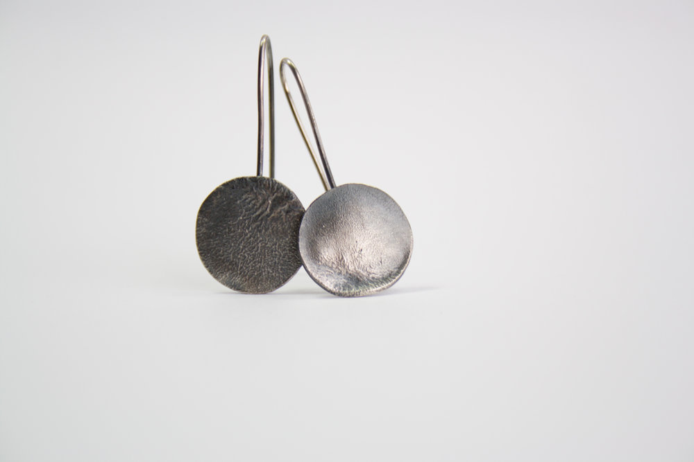 ShannonMcShane Rippled Earring (Small Oxide).jpg