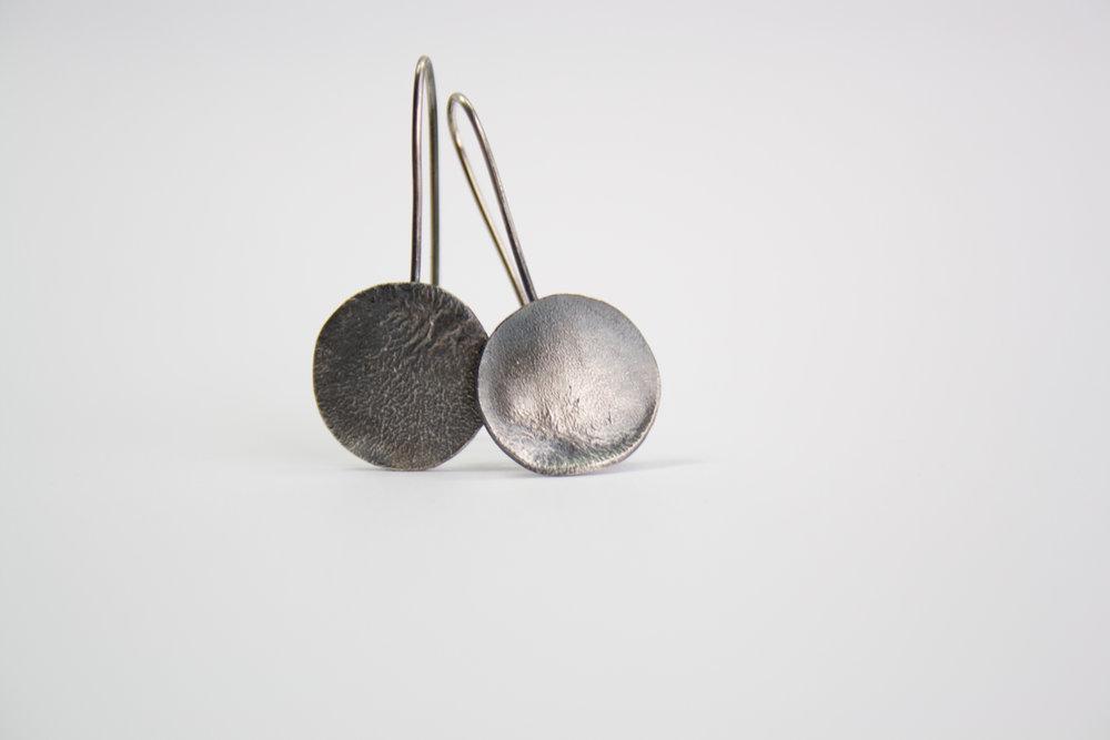 ShannonMcShane Rippled Earring (Small Oxide).jpg