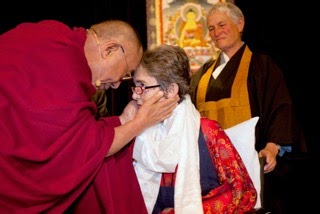Dalai Lama and Grace Dammann
