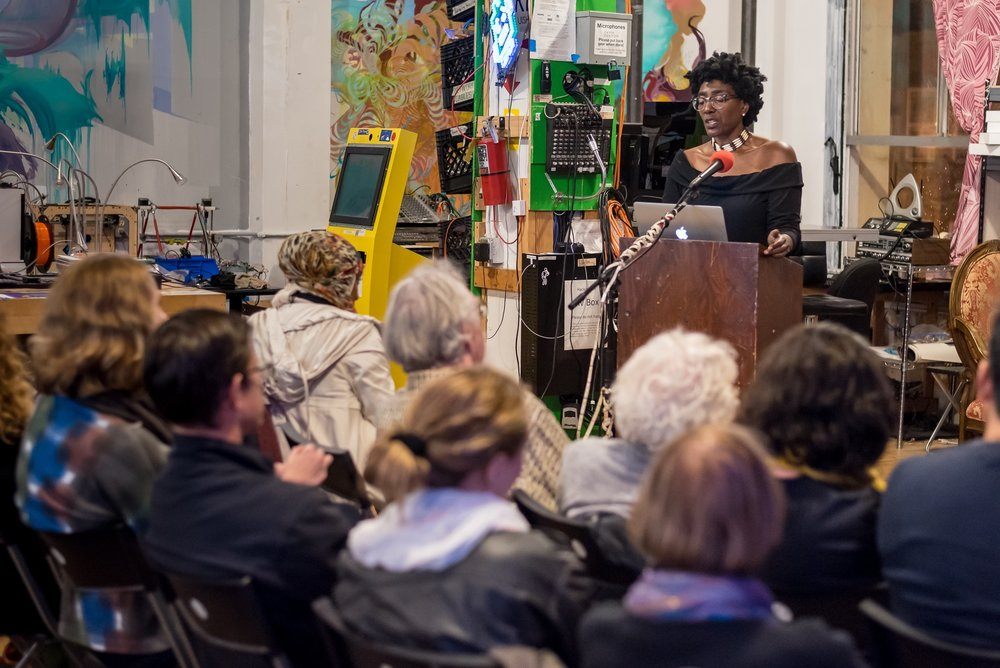 September Williams Chasing Mercury  at  LitQuake 10/15/2016