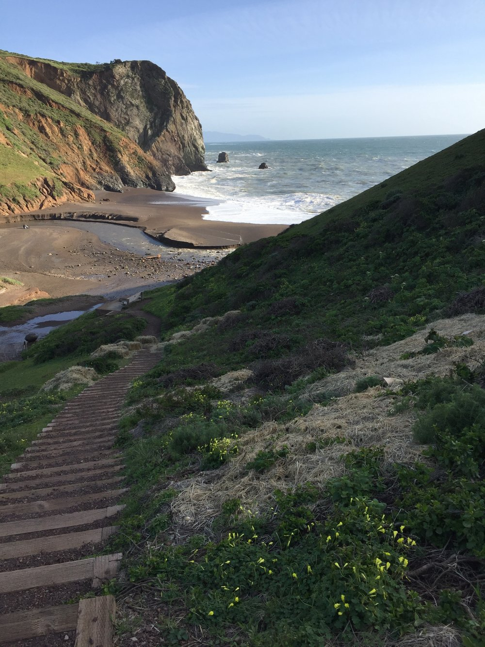 Tennessee Valley Cove, Marin County California