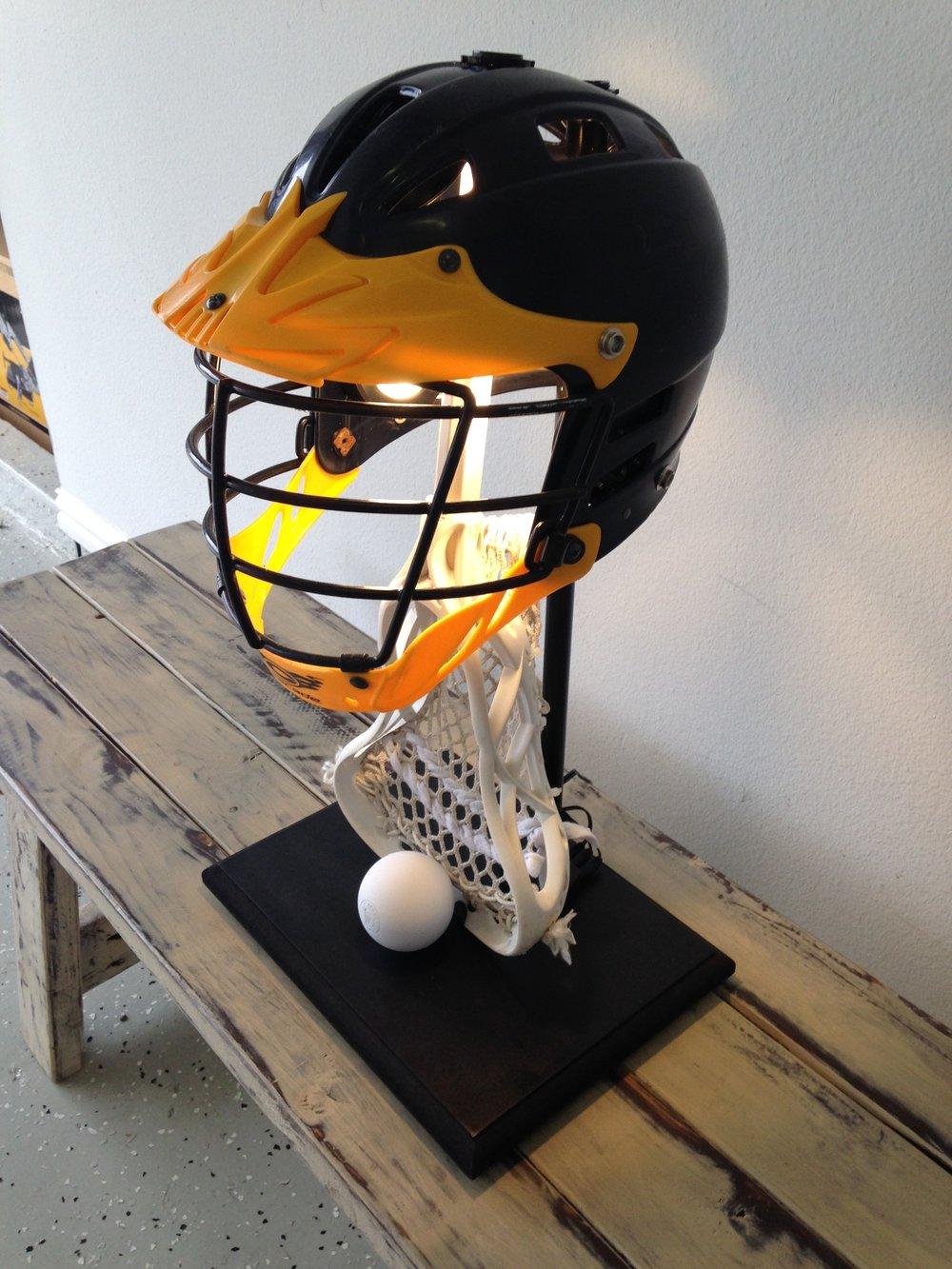 Blue U0026 Yellow Lacrosse Lamp