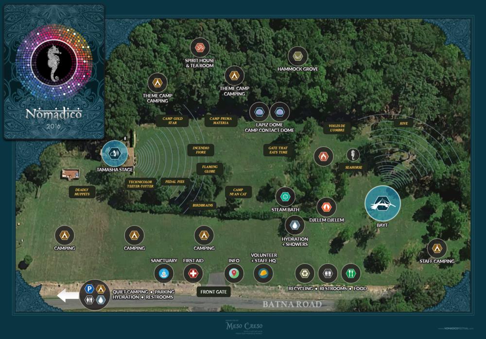 Nomadico Map
