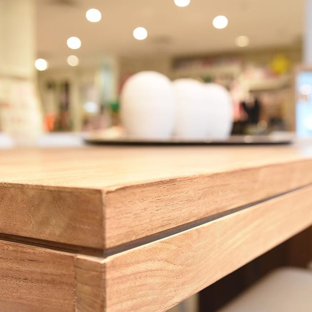 We love clean lines.  #furniture #interiordesign #beachhouse #beachstyle #stoneandgrain #oceangrove