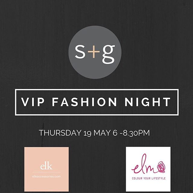 You're invited to our evening of fashion with two of our favourite homegrown labels, Elk Accessories and Elm on Thursday 19 May from 6pm - 8.30pm. Hear from the brands on what's hot for Winter, how to wear the latest trends, a showing of their latest designs....and they'll even give you a sneak peek into their Summer ranges. It will be an intimate evening designed to be enjoyed with friends. You'll be treated to a glass of the gorgeous Baie Wines, there will be prizes from Nicole Fendal Jewellery and event specials running all evening. Please RSVP via andrea@stoneandgrain.com.au, Via our Facebook page us or pop into the store by Monday 16 May  to let us know. x