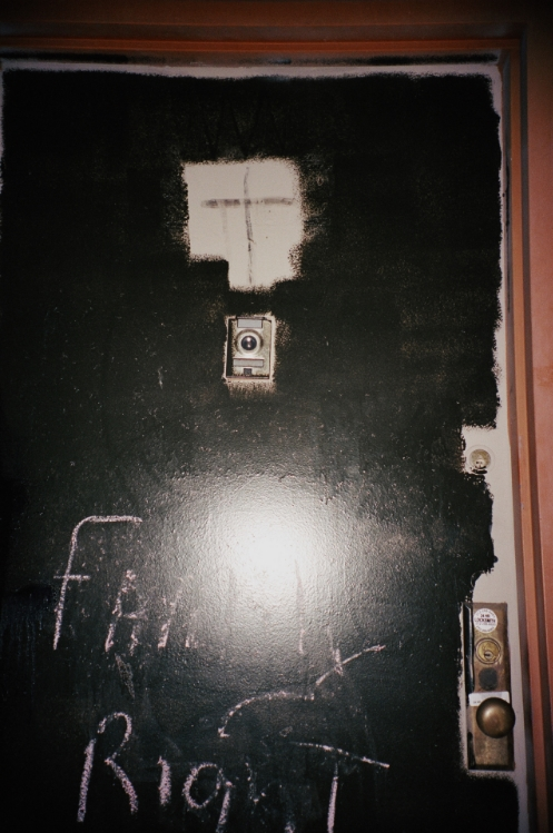 Apartment Door, Spanish Harlem, Lauren Oliver
