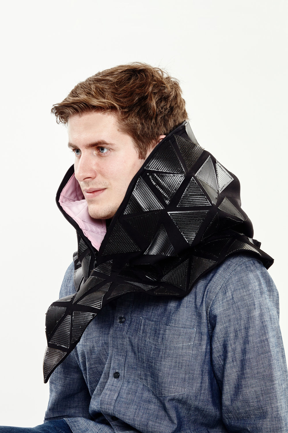 The Tech Liberator isolation cloak is a garment that allows users to avoid being taken hostage by their distractions.