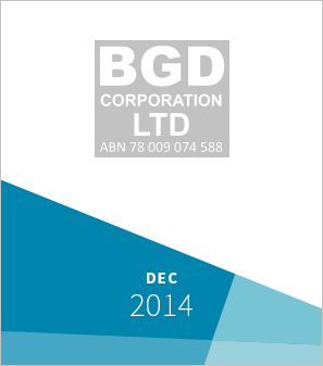 <a>BGD Corporation</a><strong>Recapitalisation of company on the Australian Stock Exchange<br><br>Investor and Advisor<br>to BGD Corporation</strong>