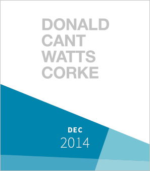 <a>Donald Cant<br>Watts Corke</a><strong>Acquisition of Heymann-Cohen<br>for DCWC<br><br>Advisor to<br>DCWC</strong>